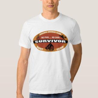 Jin's Bootcamp Survivor Logo Shirt