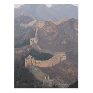 Jinshanling section, Great Wall of China Postcard