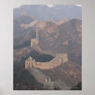 Jinshanling section, Great Wall of China Poster