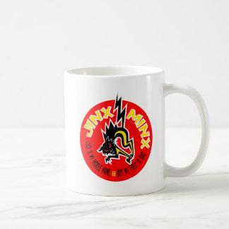 JINX MINX red & yellow Coffee Mug