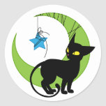 Jinx the Cat Moon Stickers
