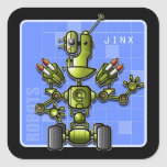 Jinx the Robot Stickers