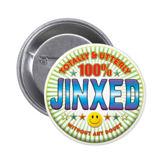 Jinxed Totally Pinback Buttons