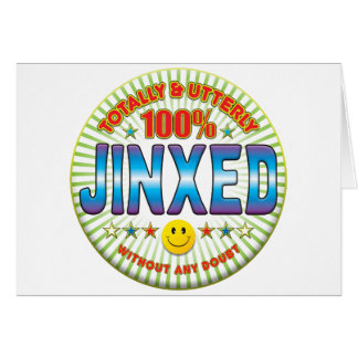 Jinxed Totally Greeting Card