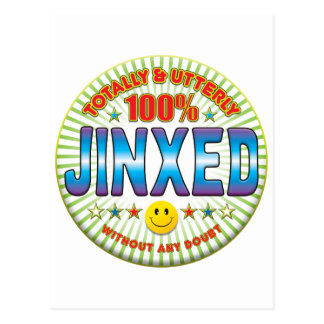 Jinxed Totally Postcard