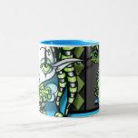 Jinxy Green Jester Pixie Coffee Mug
