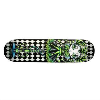 Jinxy Pixie Stick Green Jester Fairy Skate Deck