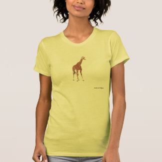 Jirafa 4 camisetas