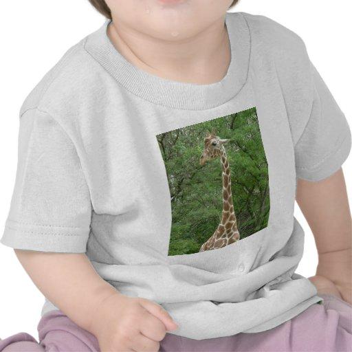 Jirafa adorable camiseta