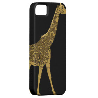 Jirafa adorable iPhone 5 funda
