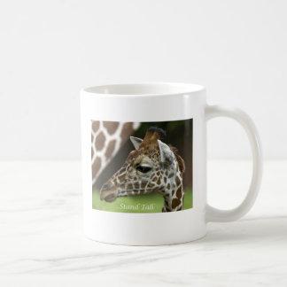 Jirafa alta del soporte tazas de café