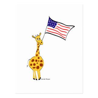Jirafa americana postales