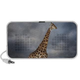 Jirafa (camelopardalis del Giraffa) iPod Altavoces