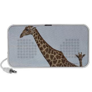 Jirafa (camelopardalis) del Giraffa, nacional de C iPod Altavoz