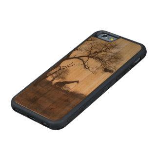 Jirafa de Kruger Funda De iPhone 6 Bumper Cerezo