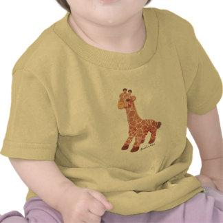 Jirafa de la colección de la arca de Noah Camiseta