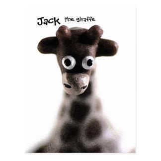 Jirafa de la postal - Jack, la jirafa, personaliza