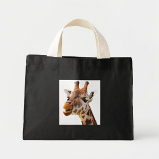 Jirafa de la selva de África del safari Bolsa