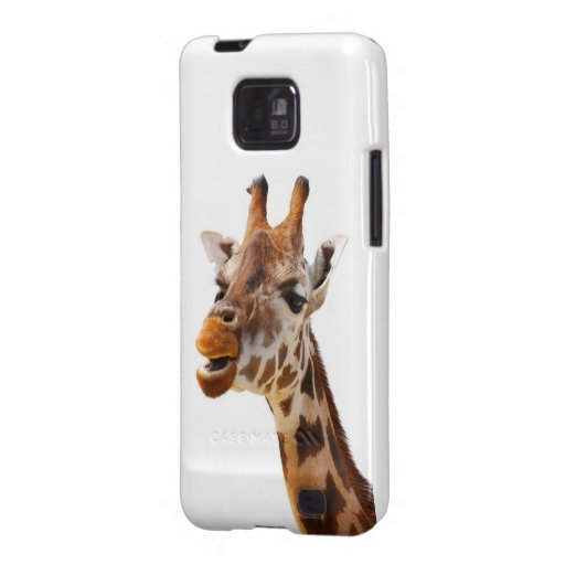 Jirafa de la selva de África del safari Samsung Galaxy S2 Funda