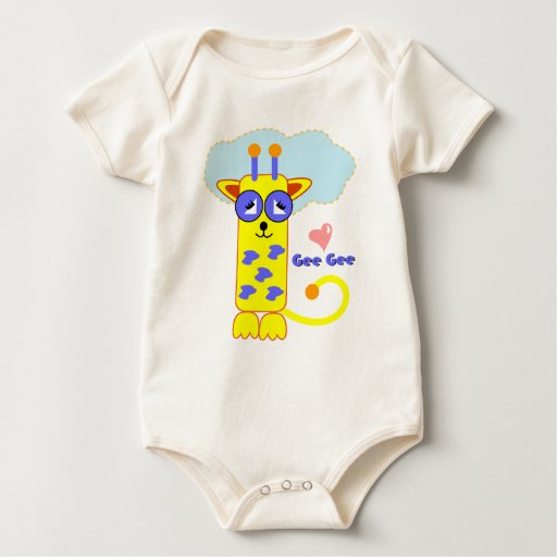 Jirafa de Minnie del mascota Gee Gee Body Para Bebé