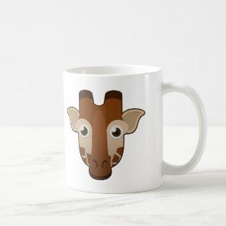 Jirafa de papel taza de café