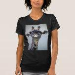 Jirafa de risa camiseta