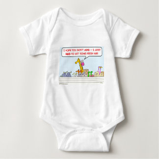 jirafa del aire fresco de la arca de Noah Body Para Bebé