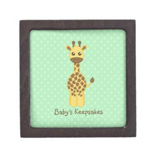 Jirafa del bebé caja de regalo de calidad