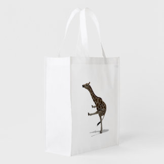 Jirafa del gimnasta bolsas para la compra