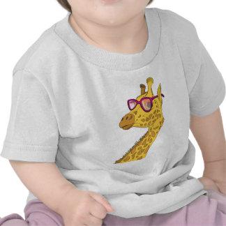 jirafa del inconformista camisetas