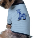 Jirafa del muchacho camiseta de perrito