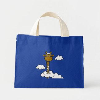 Jirafa en las nubes - cuello largo dulce bolsas