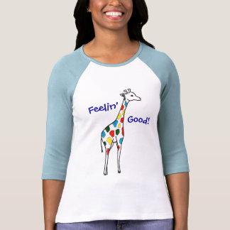 ¡Jirafa Feelin bueno! Camisa