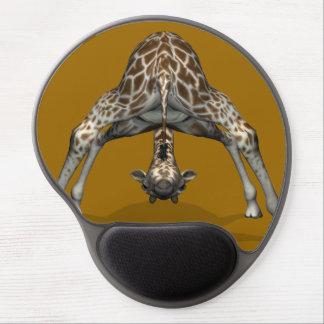 Jirafa flexible ingeniosa alfombrillas con gel