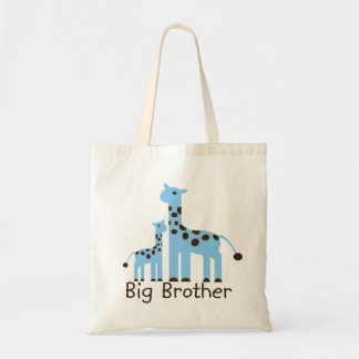 Jirafa hermano mayor bolsa de mano