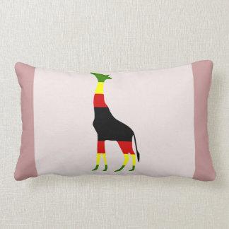 jirafa jamaicana cojin