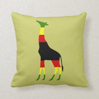 jirafa jamaicana cojines