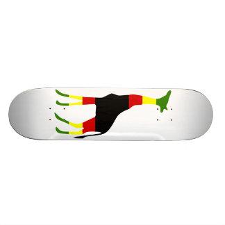 jirafa jamaicana tabla de skate