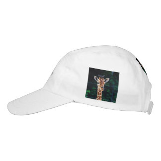 jirafa joven dulce gorra de alto rendimiento
