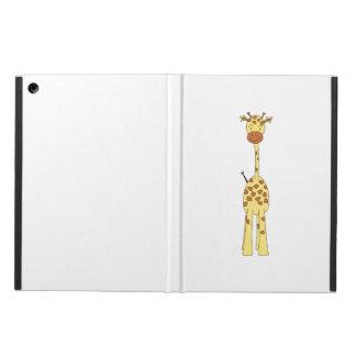 Jirafa linda alta. Animal del dibujo animado