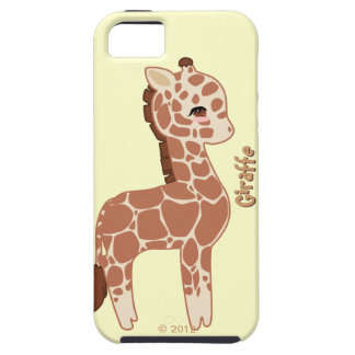 Jirafa linda iPhone 5 Case-Mate fundas