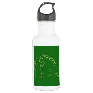 Jirafa minimalista - verde