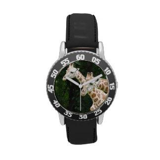 Jirafa Necked larga Reloj
