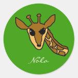 jirafa, Nola Etiquetas