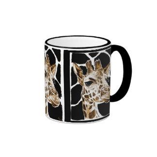 jirafa taza de café