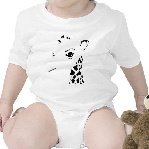 jirafa traje de bebé