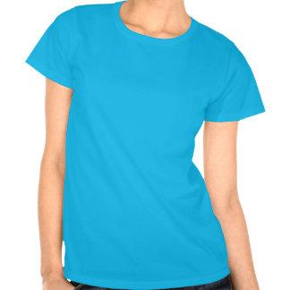 Jirafa y magdalena caprichosas lindas camisetas
