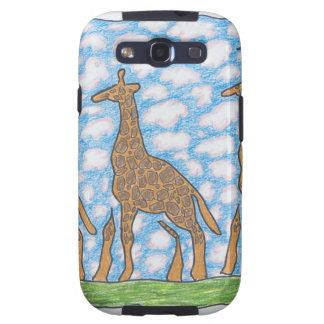 JIRAFAS de AFRIKA TRES de Ruth I. Rubin Samsung Galaxy S3 Coberturas