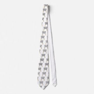 Jirafas del miedo sí mismo corbatas