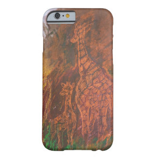 Jirafas Funda De iPhone 6 Barely There
